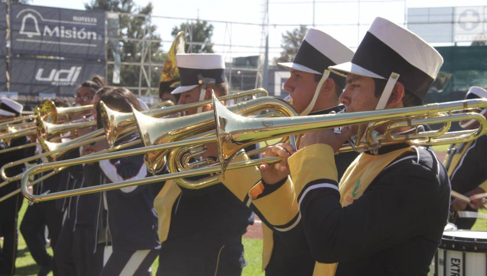 Convocatoria al equipo Marching Band